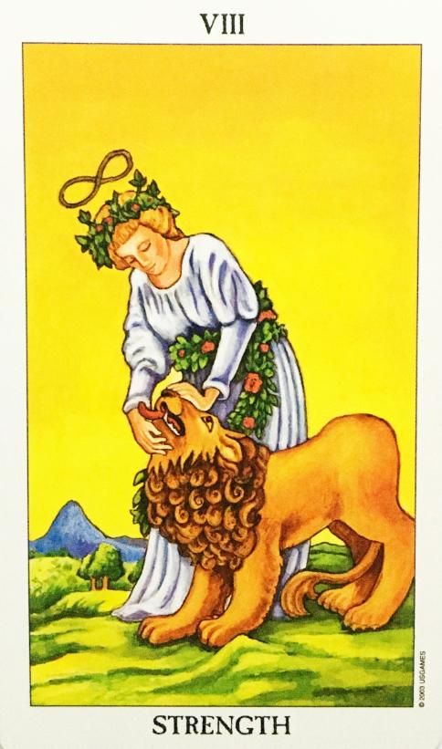 Tarot - VIII Die Kraft